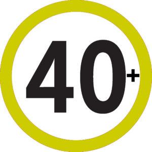 40plus grün